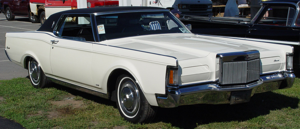Lincoln Continental Mark III: 5 фото