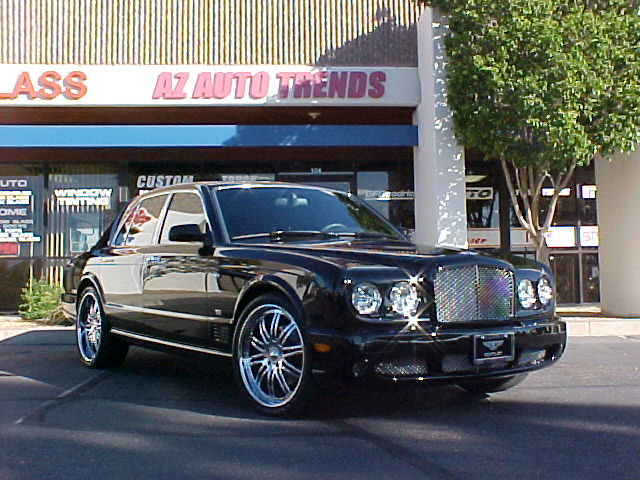 Bentley Arnage: 09 фото