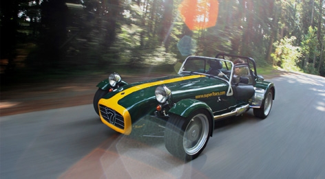 Caterham Super Seven: 7 фото