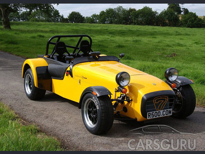 Caterham Super Seven: 8 фото