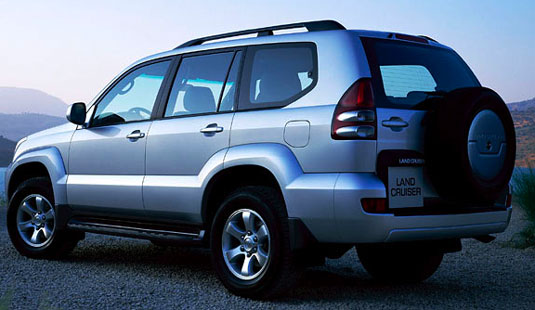 Toyota Land Cruiser Prado: 02 фото