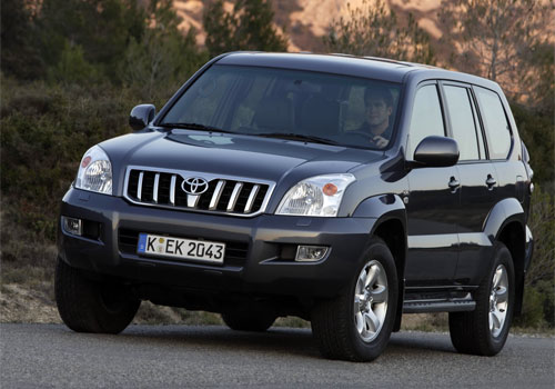 Toyota Land Cruiser Prado: 05 фото