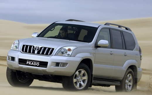 Toyota Land Cruiser Prado: 07 фото