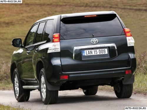 Toyota Land Cruiser Prado: 08 фото